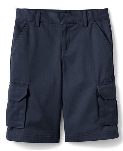 Cargo Navy wholesale boys school cargo shorts in navy blue