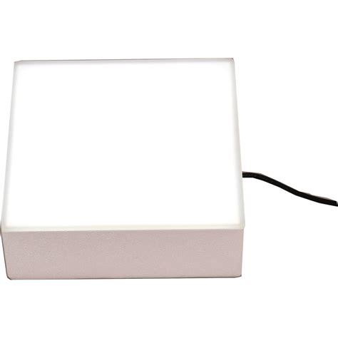porta trace light box porta trace gagne 6x6 quot led abs 6 x 6 led white f b h
