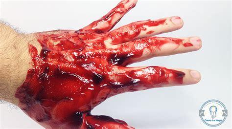 imagenes asquerosas de sangre c 243 mo lo hago c 243 mo hacer sangre falsa