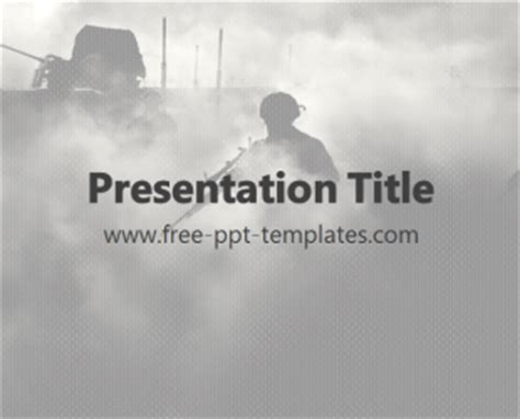 War Ppt Template Free Powerpoint Templates War Powerpoint Template