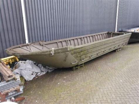 aluminium boot leger aluminium pontoon boten ex legerboot 9 x 2 meter 1944