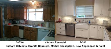 Kitchen Remodels Before And After Photos by Interior Archives Page 5 Of 12 Vip Services Painting Improvements