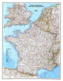 Map Of France And Belgium by Map Of France Belgium And The Netherlands Posters By