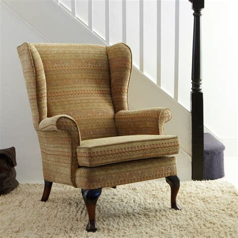 parker knoll penshurst wing chair in fabric at smiths the