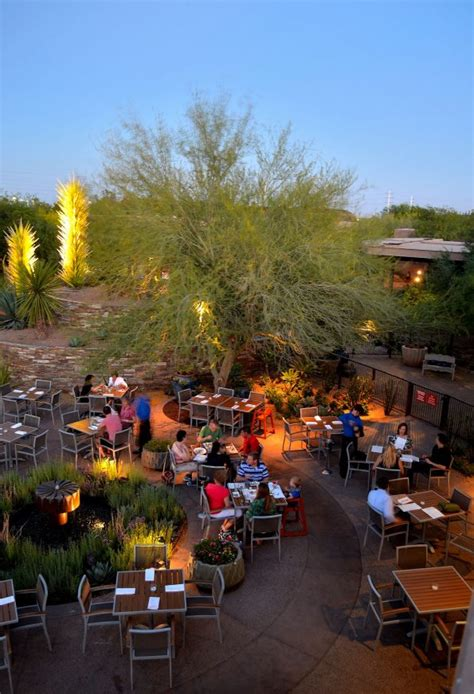 dine at the desert botanical garden s gertrude s this
