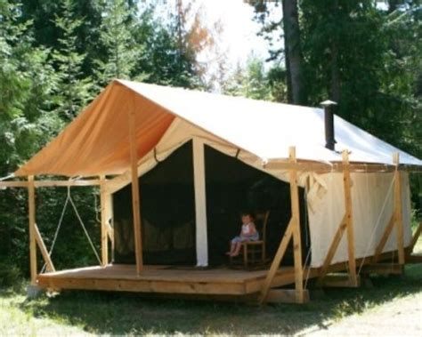 wall tent platform design 17 best images about tent living ideas on pinterest out