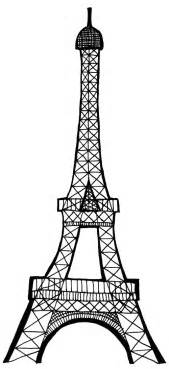 black pink drawings eiffel tower eclectic cycle