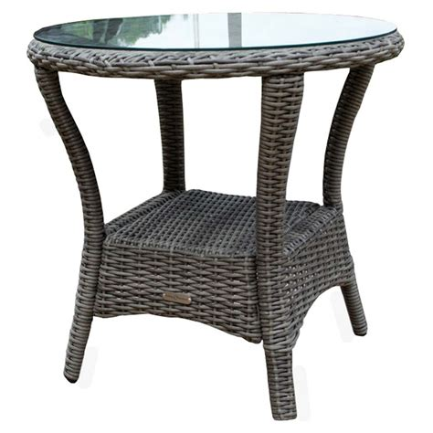 Wicker Side Table Tortuga Outdoor Bayview Side Table Wicker