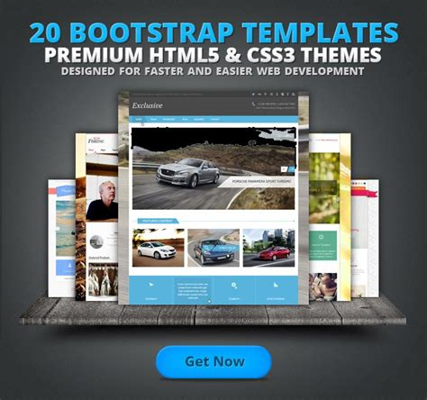 20 premium bootstrap templates from flashmint graphic rush