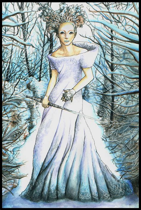 The Witch In The The Witch And The Wardrobe by The White Witch By Redderz On Deviantart