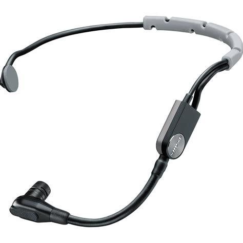 condenser microphone headset shure sm35 performance headset condenser microphone sm35 xlr b h