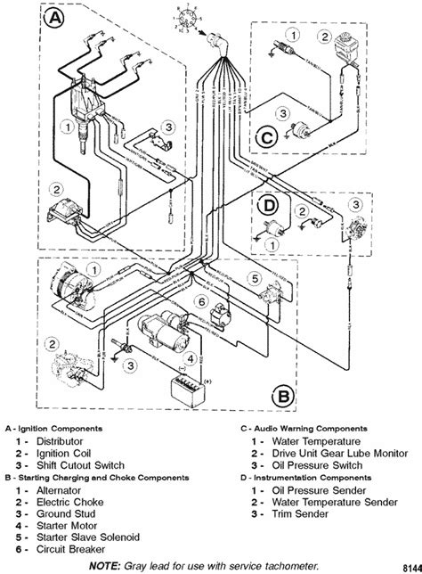 ignition wiring diagram for 3 0 mercruiser mercruiser