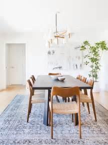 mid century dining room a minimalist mid century home tour
