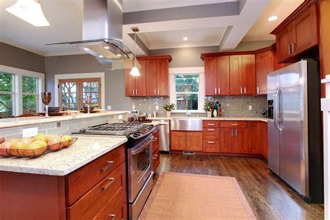 white and cherry kitchen cabinets natural american cherry shaker pius kitchen bath
