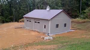 30 by 40 pole barn 30x40x12 residential garage in edinburg va ras12102