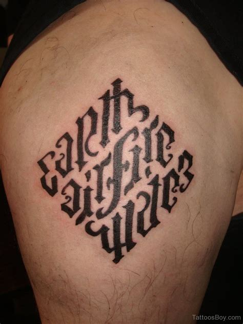 tattoo ambigram ambigram tattoos designs pictures page 4