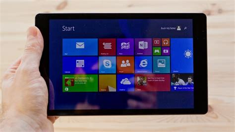 best tablets review bush mytablet review review pc advisor