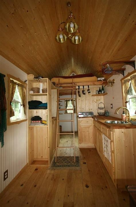 Tiny Homes Interior Pictures by Tiny House Interior Cabin Living Pinterest