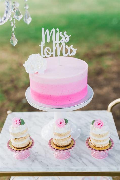 pink bridal shower cake ideas pink gold bridal shower brunch inspiration trueblu