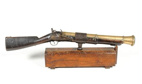 eighteenth century boats tennants auctioneers a late 18th century french flintlock