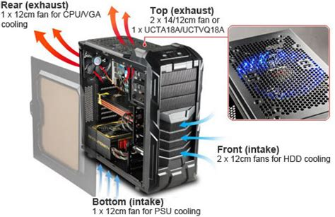 Heatsink All Black Type 2 enermax eca3291a b black secc 0 5 0 6mm atx mid tower computer newegg