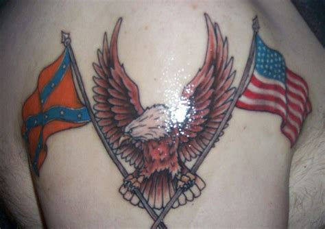 confederate flag tattoo rebel flag tattoos designs ideas and meaning tattoos