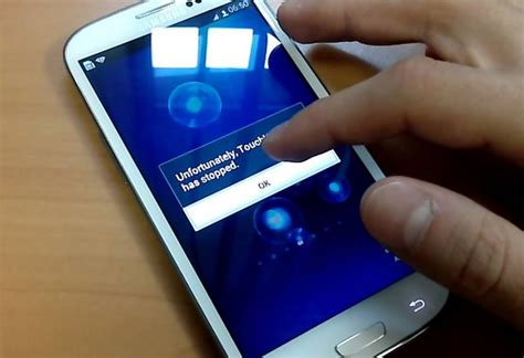 how to fix unfortunately touchwiz has stopped error on