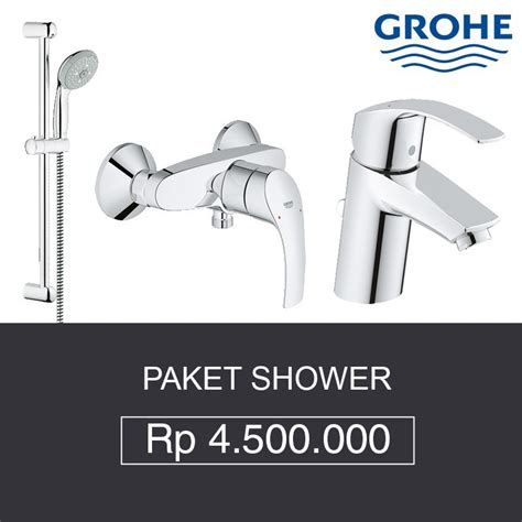 Harga Kran Shower Tanam by Paket Shower Grohe Shower Bath Mixer Kran Air Toko