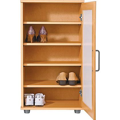 cuban shoe storage contemporary shoe storage cabinet beech effect