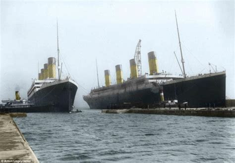 when did color pictures come out photos what did the titanic look like in color russian