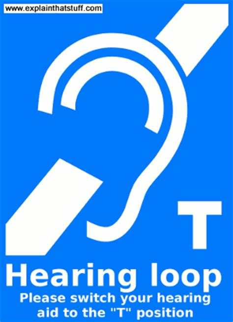 inductive coupling hearing aid telephones and cellphones for deaf and hearing impaired