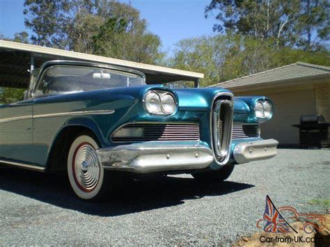 Edsel Ford Car For Sale by 1958 Ford Edsel Convertible For Sale