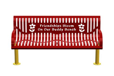 buddy bench story fundraiser by bonnie lauton i want a buddy bench to donate