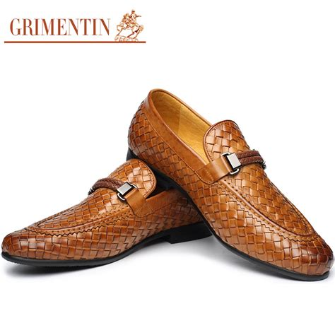 mens loafers fashion grimentin brand fashion braided mens loafers genuine