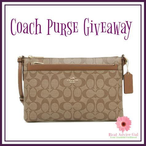 Purse Giveaway - coach giveaway 9 1 us