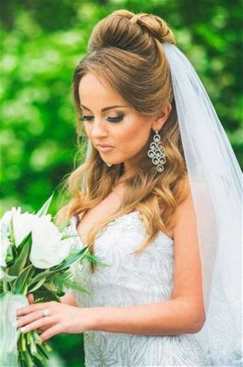 Wedding Hairstyles With Veil Half Up Half by 37 Half Up Half Wedding Hairstyles Anyone Would