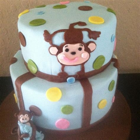 Baby Monkey Theme For Baby Shower by Monkey Theme Baby Shower Cakecentral