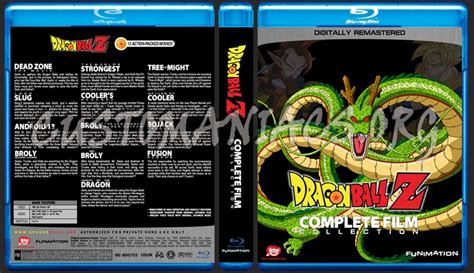 film z blu ray dragon ball z complete film collection blu ray cover
