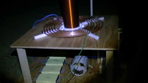 Spark Tesla Dual Mot Tesla Coil Change In Spark Gap Design