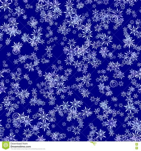 abstract snowflakes seamless pattern background royalty abstract snowflake pattern on dark blue background winter