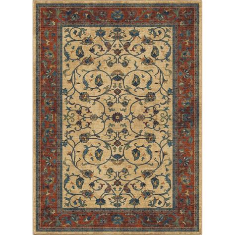 Allen And Roth Area Rugs Shop Allen Roth 3 Ft11 Inx5 Ft5 In Breelynn Area Rug At Lowes