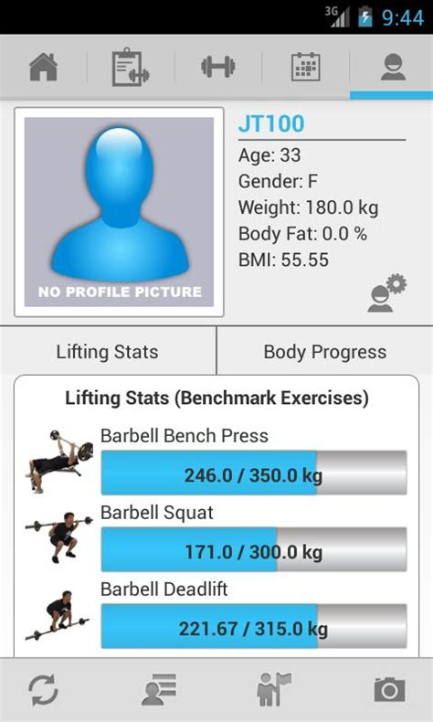 jefit pro apk jefit workout exercise log screenshot