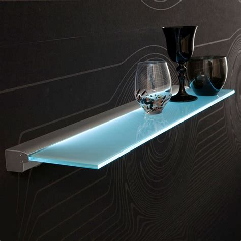 led glass shelf lighting china furniture led motion sensor glass display shelf