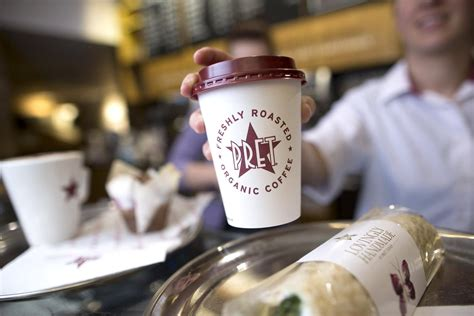 pret  manger staff give  coffee   favourite