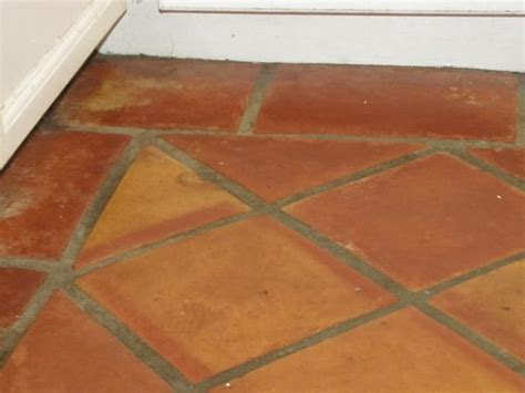 restoring terracotta floor mexican tile ceramic tile