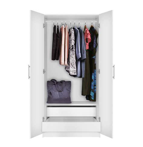 Alta Wardrobe by Alta Wardrobe Cabinet 2 Door Cabinet Contempo Space