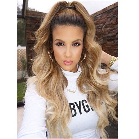 j lo ponytail hairstyles half ponytail hair pinterest ponies half ponytail