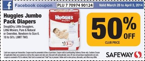 printable huggies coupons canada safeway canada printable grocery coupons 50 off huggies