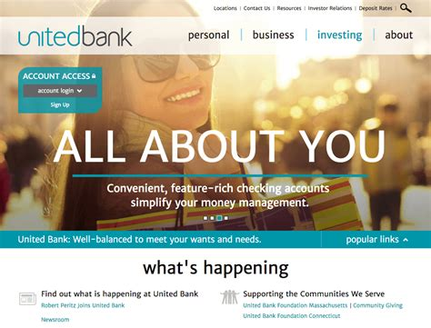 best site the definitive list of the best bank website designs