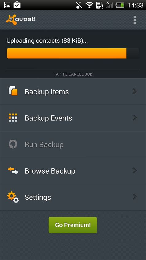 mobile backup avast mobile backup android app chip